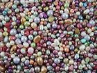 Freshwater Pearls 50g Mix Colours/Shapes Jewellery Jewelry FREE POSTAGE