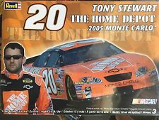 1/24 Revell Tony Stewart #20 Home Depot 2005 Chevy Monte Carlo Model Kit Sealed