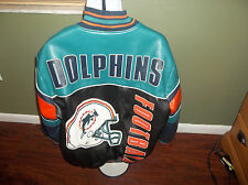 VTG  Miami Dolphins  Jacket SIZE ADULT LARGE NFL LOOK