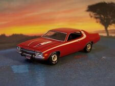 1973 PLYMOUTH ROADRUNNER / SATELLITE / SEBRING COLLECTIBLE MODEL - 1/64 DIORAMA