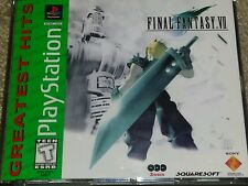 Final Fantasy VII (Greatest Hits) (Sony PlayStation 1, 2000)
