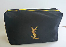 YSL Black and Gold Makeup Cosmetics Bag, Brand NEW! 100% Genuine!!