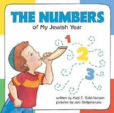 The Numbers of My Jewish Year by Marji E. Gold-Vukson (2006, Board Book)