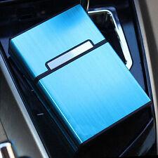 1* Zigarettenetui Zigarettendose Zigarettenbox Tabak Dose Schachtel Etui Blau