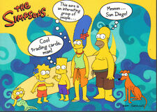 SIMPSONS 10TH ANNIVERSARY PROMOTIONAL CARD SD2000