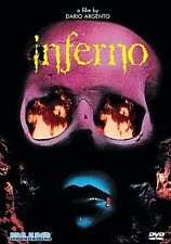 Inferno Blue Underground David Argento Not Rated 1980 R1 OOP