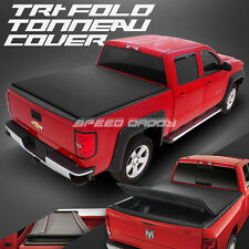 SNAP-ON VINYL TRIFOLD TONNEAU COVER FOR 89-04 TOYOTA PICKUP/TACOMA 6' SHORT BED
