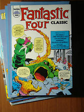 Fantastic Four Classic, vol 1 de Forum COMPLETA 11 Comics