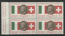 ITALY 1962 BALZAN FOUNDATION 70L BLOCK MINT