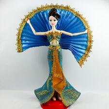 Blue Outfit Clothes Cabaret Thai Dress Dolls Barbie Grown Princess Fashionistas