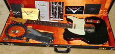 Fender 1963 Telecaster Relic Electric Guitar*Custom Shop*2016*Aged Black