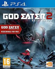 God Eater 2: Rage Burst (inc God Eater Resurrection) PS4