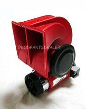 Gearhead SUPER LOUD 12v Red Twin Auto Machine Air Horn 139dB Universal Golf Cart