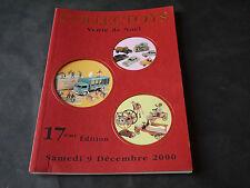 CATALOGUE JOUETS ANCIENS COLLECTOYS VENTE NOEL 2000