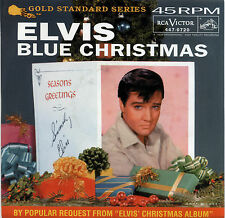 "ELVIS PRESLEY  ""BLUE CHRISTMAS""       RED VINYL    LISTEN"