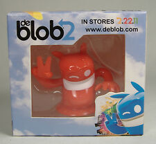 DE BLOB 2 PROMOTIONAL RED FIGURE NINTENDO GAME BOY MISB DEBLOB2 SUPER RARE