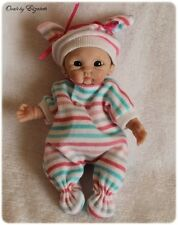 ooak hand sculpted polymer clay baby artist art doll girl 5 inch elizabeth