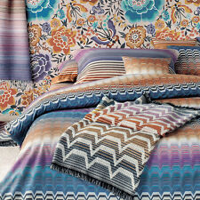 MISSONI HOME SEYMOUR 2016 DUVET COVER - QUEEN 230x220 cm 100% PERCALLE COTTON