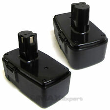 2 x 18V 18 VOLT BATTERY for CRAFTSMAN 11098 11103 2.0AH