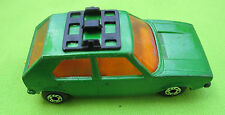 1976 LOOSE MATCHBOX METALLIC GREEN VW GOLF SERF BORDS LENSERY PRODUCTS