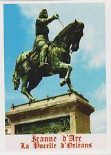 """*Postcard-""""Saint Joan of Arc"""" -STATUE- (Jeanne D'Arc/La Pucelle D'Orleans)"""