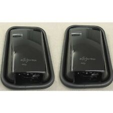 DEFENDER PAIR OF GLOSS BLACK MIRROR HEADS FOR LAND ROVER DEFENDER - LRC1066