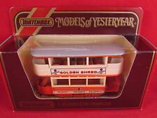 Matchbox - Y-15 Preston Tramcar - Golden Shred - Mint & Boxed - Fast Postage