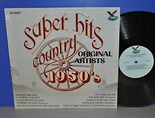 V.A. Super Hits Country 1950's Bobby Helms Fraulein USA 78 Vinyl LP cleaned