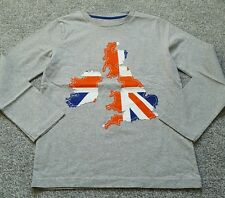 Mini Boden Boys Applique long sleeve top cotton. UK Size 4-5 years. Brand new.