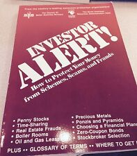 Investor Alert:  How to Protect Your Money from Schemes, Scams and Frauds