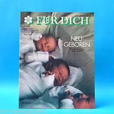 DDR FÜR DICH 1/1990 Rostock Ökologie Neueseeland Modedesigner Strozynski Mode B