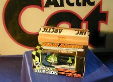 ARCTIC CAT DIECAST SNOWMOBILE ZR 440 Sno Pro Brian Sturgeon COLLECTIBLE