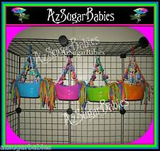 Sugar Glider Cage Set Toy 2...Colored Ball Boat! Toys ~ ** 6 COLORS**
