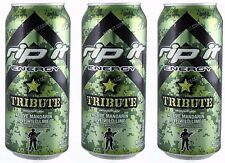 Tribute Rip-it Energy Drink 16 oz Can Unopened New Fuel Fast Shipping Set Of 3