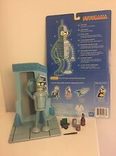 Futurama Moore Action Collectibles Bender, Suicide Booth Stand & Accessories