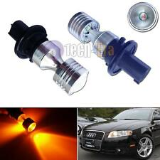 CAN-bus PH24WY Amber LED Bulbs For Audi Cadillac Front Turn Signal Driving Light