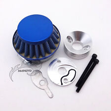 Gas Scooter 44mm Air Filter Adapter Velocity Stack For 33 43 49cc Goped Blade Z