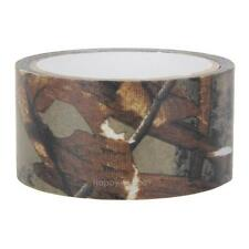 Outdoor 10m x 5cm Woodland Camouflage Tape Real Tree Cloth Gun Hunting Camo Tape