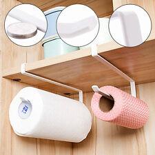 Stainless Steel Over Door Tissue Paper Towel Roll Holder Rack Over Door Kitchen