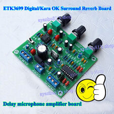 ETK3699 Digital Kara OK Surround Reverb Delay Microphone Amp Preamp Board