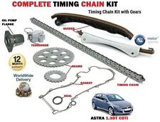 FOR VAUXHALL ASTRA  1.3 CDTi 2004-- NEW TIMING CAM CHAIN KIT SET + GEAR + FLANGE