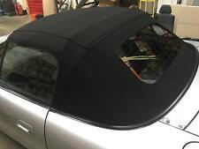 Mazda Mx5 MK2 Negro Mohair Capucha Con Ventana De Vidrio climatizada Estilo Original