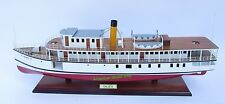 "Calista Steamboat Ship Model 28"" - Handcrafted Wooden Ship Model NEW"