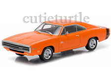 Greenlight Run With The Dodge Scat Pack 1970 Dodge Charger R/T 1:43 86302 Orange