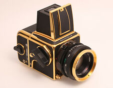 "Hasselblad 2000FC/M Gold  ""100 Years in Photography 1885-1985""  Sonderedition"