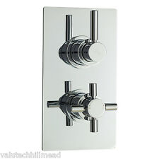 Hudson Reed Tec Pura Twin Concealed Thermostatic Valve