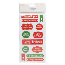 Simply Creative Chipboard Christmas label stickers for cards and crafts