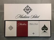 Madison Select Deck Box Set - Ellusionist Playing Cards - Revolvers, Hustler