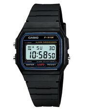 Casio Watch * F91W-1 Classic Black Resin Square Digital Ivanandsophia COD PayPal
