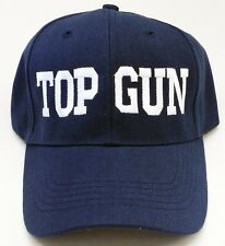 TOP GUN TEXT MILITARY BASEBALL CAP HAT FREE SHIPPING USA